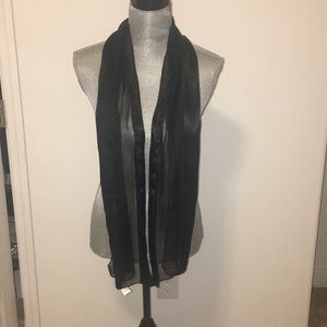 Chico's Accessories - Sheer blk scarf